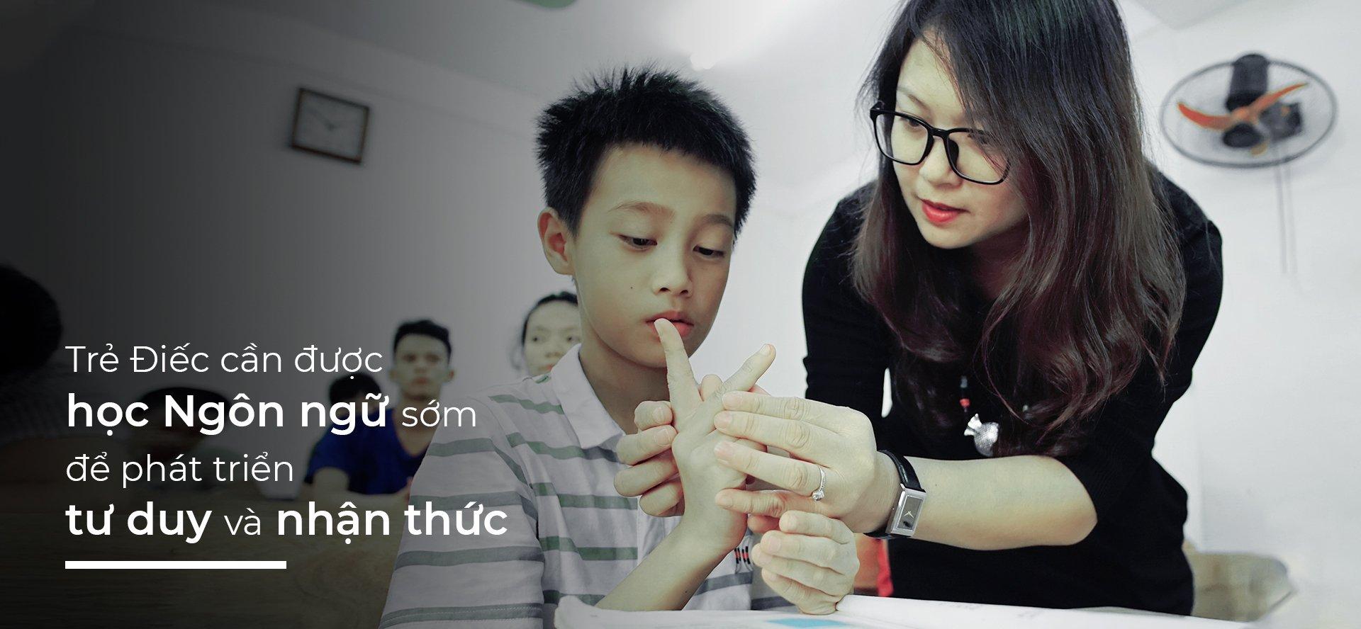 """Kiểm đếm kết quả học tập của học sinh khiếm thính tham gia dự án """"Nâng cao chất lượng giáo dục học sinh khiếm thính cấp tiểu học  thông qua ngôn ngữ ký hiệu"""" (QIPEDC)."""