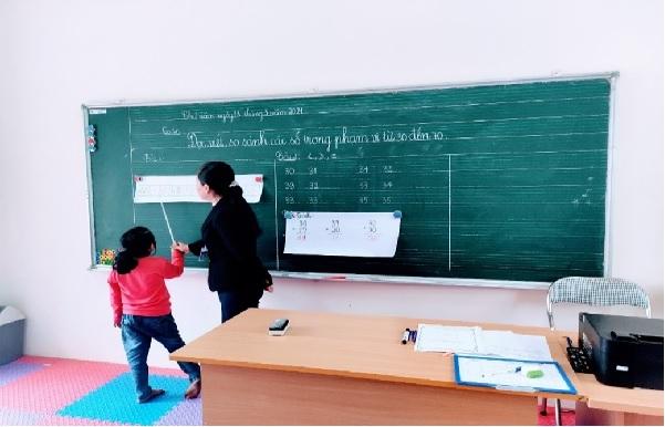 Đánh giá triển khai công tác giáo dục hòa nhập tại Quảng Uyên, Cao Bằng và Na Rì, Bắc Cạn