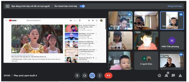 Học tập trực tuyến với học sinh khiếm thị - Kinh nghiệm từ nhóm Play and Learn Hà Nội
