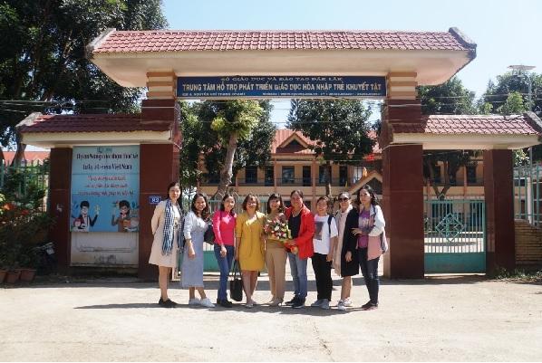 Hỗ trợ chuyên môn trường PTĐB Nguyễn Đình Chiểu thành phố Hồ Chí Minh
